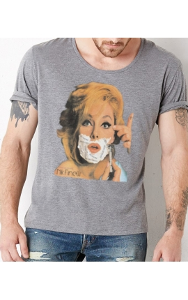 Shirt LATIN BARBA MAN GREY